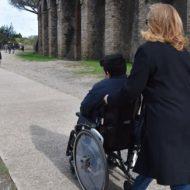 """""""Pompei per tutti"""", inaugurato il nuovo percorso per i disabili agli Scavi archeologici"""